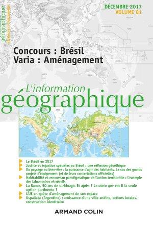 L'Information géographique-armand colin-9782200931209
