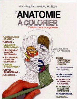 L'anatomie à colorier-maloine-9782224028572