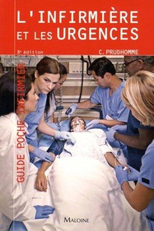L'infirmière et les urgences - maloine - 9782224034528