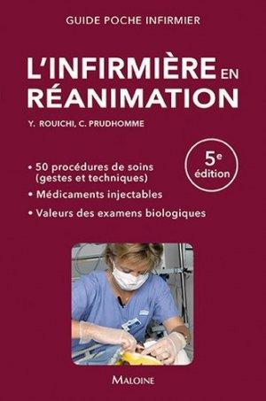L'infirmière en réanimation-maloine-9782224035204