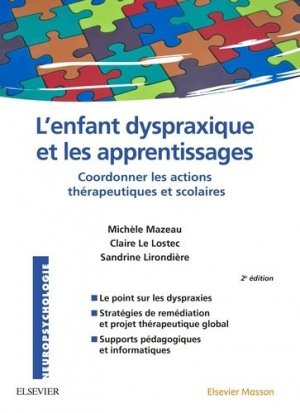 L'enfant dyspraxique et les apprentissages-elsevier / masson-9782294744808