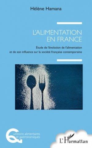 L'alimentation en France - l'harmattan - 9782343154435