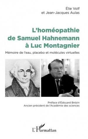 L'homéopathie de Samuel Hahnemann à Luc Montagnier-l'harmattan-9782343165172