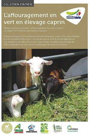 L'affouragement en vert en élevage caprin-technipel / institut de l'elevage-9782363439901
