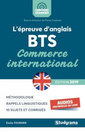 L'épreuve d'anglais au BTS-studyrama-9782759039425