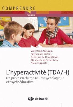 L'hyperactivité (TDA/H) - de boeck superieur - 9782804176198
