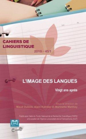 L'image des langues - eme - 9782806636843