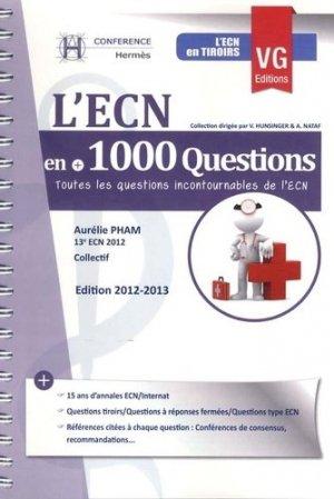 L'ECN en +1000 questions - vernazobres grego - 9782818306857