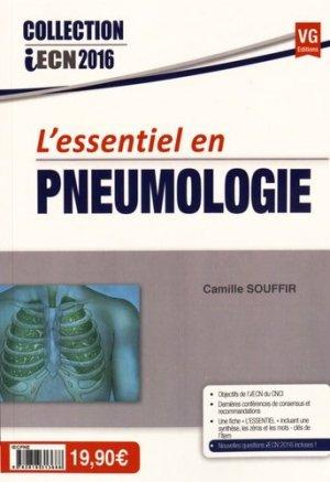 L'essentiel en pneumologie - vernazobres grego - 9782818313688