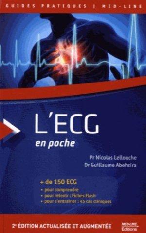 L'ECG en poche - med-line - 9782846782050