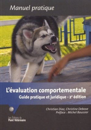 L' Évaluation comportementale-du point veterinaire-9782863263723