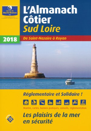 L'almanach côtier Sud Loire 2018-oeuvres du marin breton-9782902855551