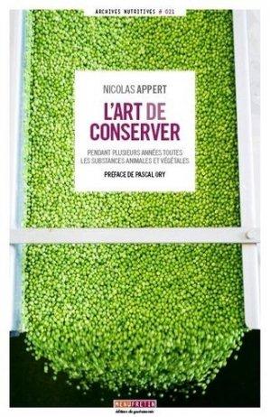 L'art de conserver-menu fretin-9791096339228
