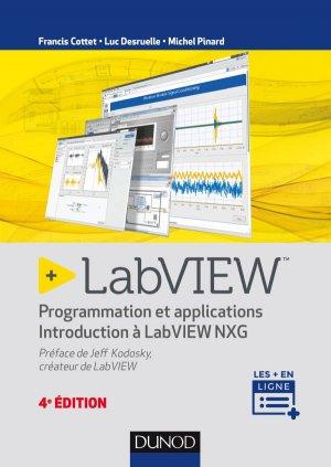 LabVIEW  Programmation et applications-dunod-9782100782833