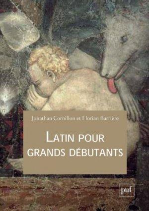 Latin pour grands débutants-puf-9782130811008