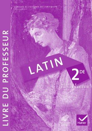 Latin 2de : Livre du professeur - hatier - 9782218980022
