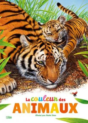 La couleur des animaux-lito-9782244411385