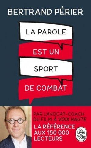 La parole est un sport de combat-le livre de poche-9782253188186