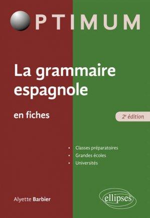 La grammaire espagnole en fiches-ellipses-9782340026360