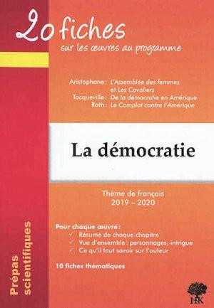 La démocratie - h&k - 9782351413593