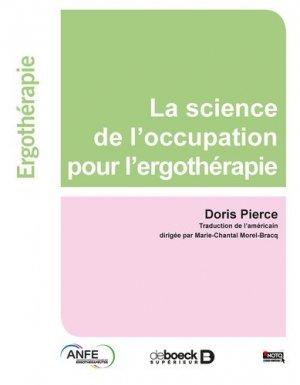 La science de l'occupation pour l'ergothérapie-de boeck superieur-9782353273515