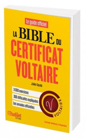 La bible du certificat Voltaire-de l'opportun-9782360756988