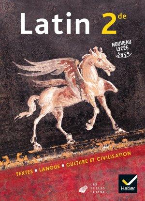 Latin 2de - Éd. 2019 - Livre de l'élève-hatier-9782401053892