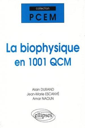 La biophysique en 1001 QCM-ellipses-9782729821340