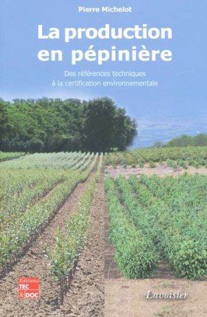 La production en pépinière-lavoisier / tec et doc-9782743012250