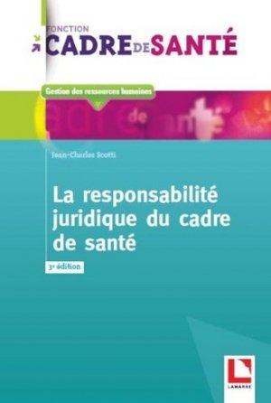 La responsabilité juridique du cadre de santé-lamarre-9782757309919