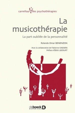 La musicothérapie - de boeck superieur - 9782804146702