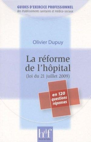 La réforme de l'hôpital (loi du 21 juillet 2009) - heures de france - 9782853853125
