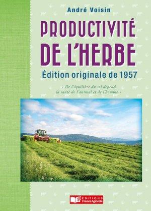La productivité de l'herbe - france agricole - 9782855575735