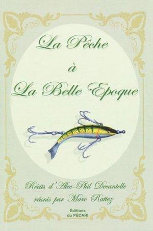 La pêche à la Belle Époque-du pecari-9782912848680