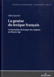 La genèse du lexique français-peter lang-9783631656778