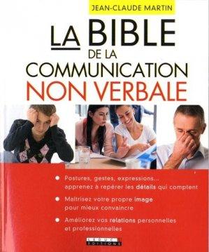 La bible de la communication non verbale-leduc-9791028500948