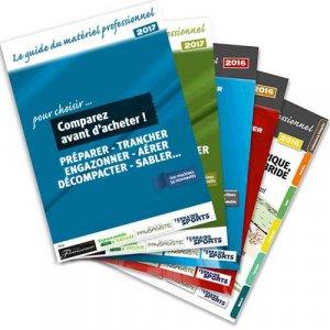 Les guides du matériel professionnel - Souffler Aspirer Balayer - horticulture et paysage - 2225002950360