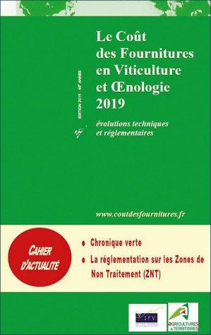 Le coût des fournitures en viticulture et oenologie 2019-institut francais de la vigne et du vin-2225452199630