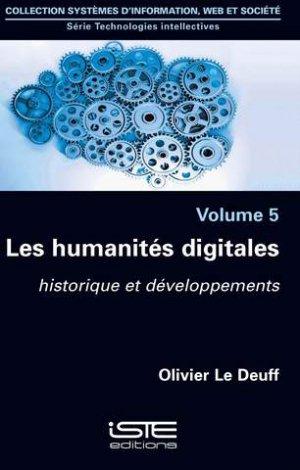Les humanités digitales-iste-9781784053529
