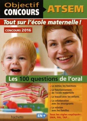Les 100 questions de l'oral - hachette - 9782019104061