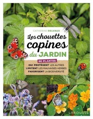 Les chouettes copines du jardin-larousse-9782035966841