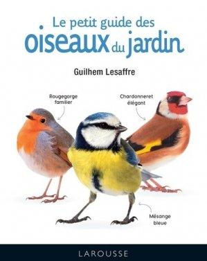 Le petit guide des oiseaux du jardin-larousse-9782035968395