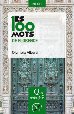 Les 100 mots de Florence - puf - 9782130814474