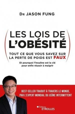 Les lois de l'obésité - eyrolles - 9782212571363