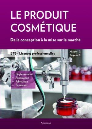 Le produit cosmétique - maloine - 9782224035969