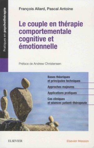 Le couple en thérapie comportementale, cognitive et émotionnelle-elsevier / masson-9782294758928