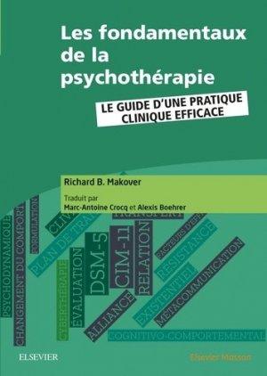 Les fondamentaux de la psychothérapie-elsevier / masson-9782294761683