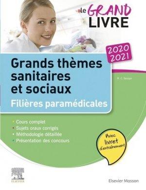 Le grand livre 2020-2021 Grands thèmes sanitaires et sociaux Filières paramédicales-elsevier / masson-9782294765254