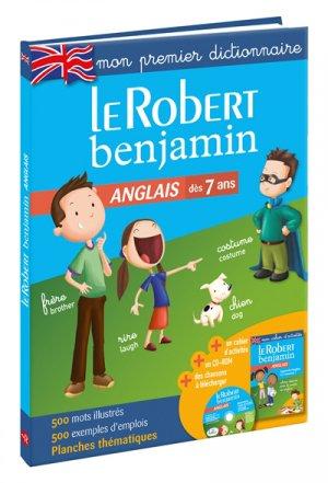 Le Robert benjamin Anglais-le robert-9782321013310