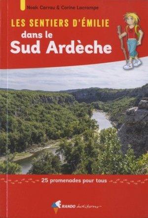 Les sentiers d'Emilie dans le Sud Ardèche-rando-9782344032831
